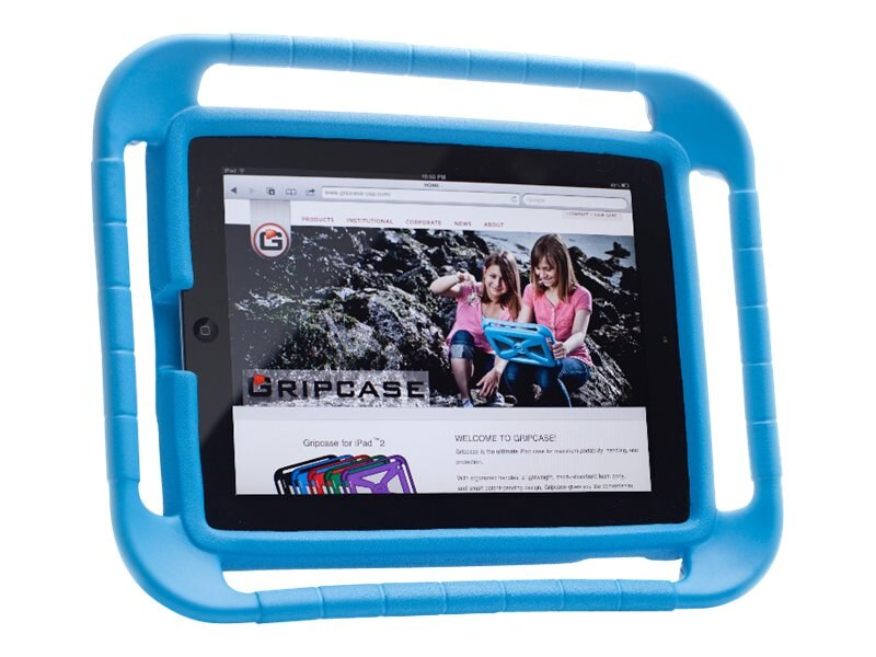 Gripcase EVA Foam Protective Case for iPad 2 3, Blue