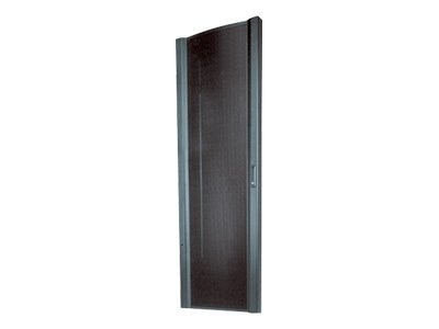 APC NetShelter VX Front Door 42U 600mm Wide, Black (AR8361BLK), AR8361BLK, 385703, Rack Mount Accessories
