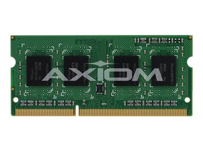 Axiom 4GB PC3-12800 204-pin DDR3 SDRAM SODIMM for Select Toughbook Models, CF-BAX04GI-AX, 17054005, Memory
