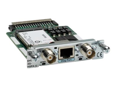 Refurb. Cisco Refurb. 3G EHWIC HSPA Controller Universal GPS, Cisco Warranty
