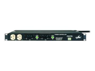 Eaton Basic ePDU 1U 120V 5-20P Input 9ft Cord (12) 5-20R Outlets, Filter, T982A2-F-SL-109, 9882249, Power Distribution Units