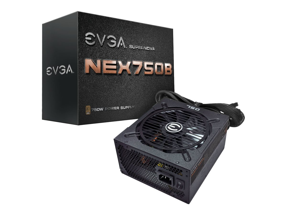 eVGA 750W SuperNOVA Bronze PSU