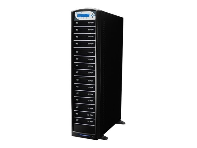 Vinpower SharkBlu Blu-ray DVD CD USB 3.0 1:15 Duplicator w  Hard Drive, SHARKBLU-S15T-BK, 15128947, Disc Duplicators