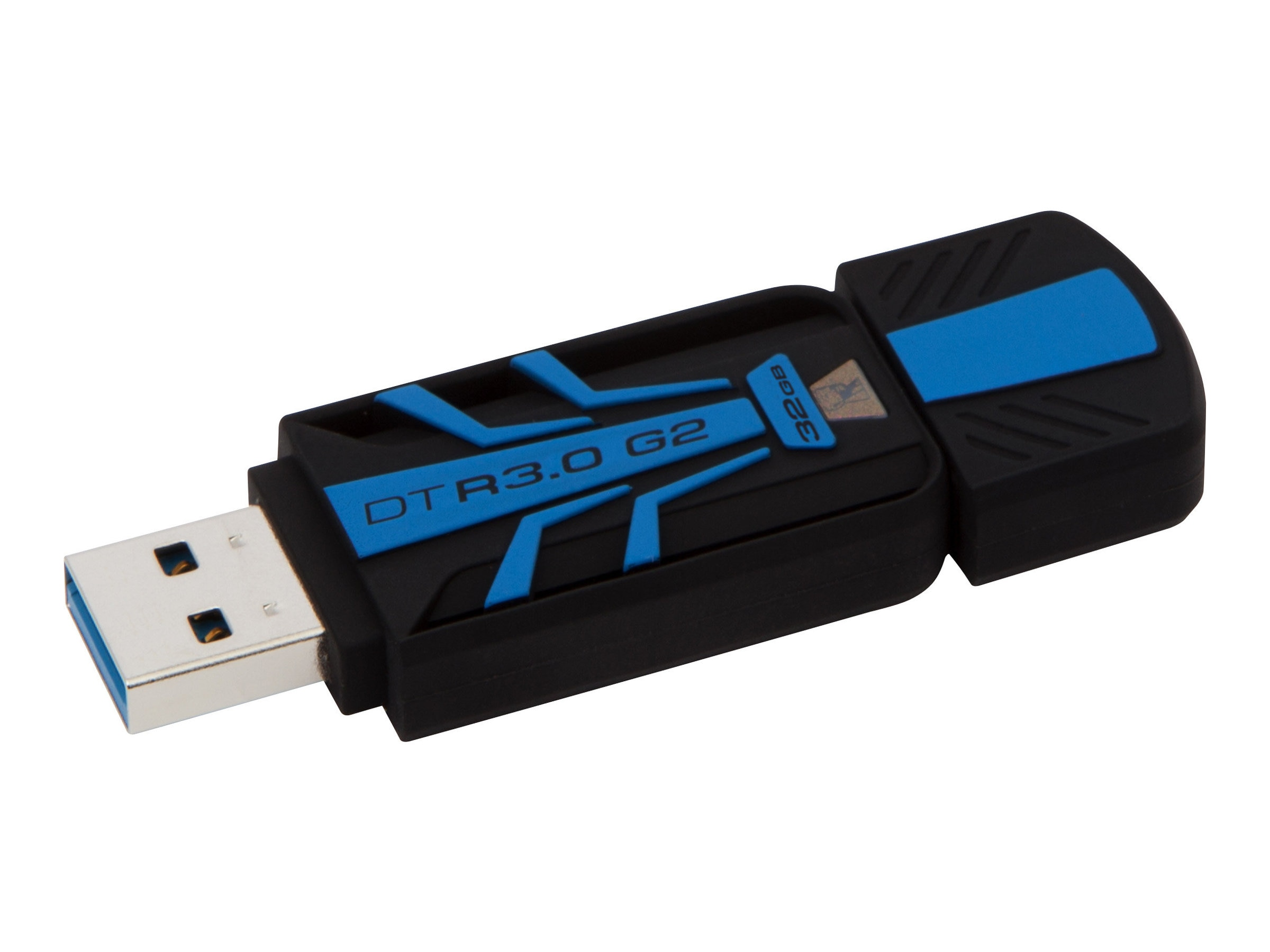 Kingston 32GB DataTraveler R3.0 G2 USB 3.0 Flash Drive, DTR30G2/32GB, 17099916, Flash Drives