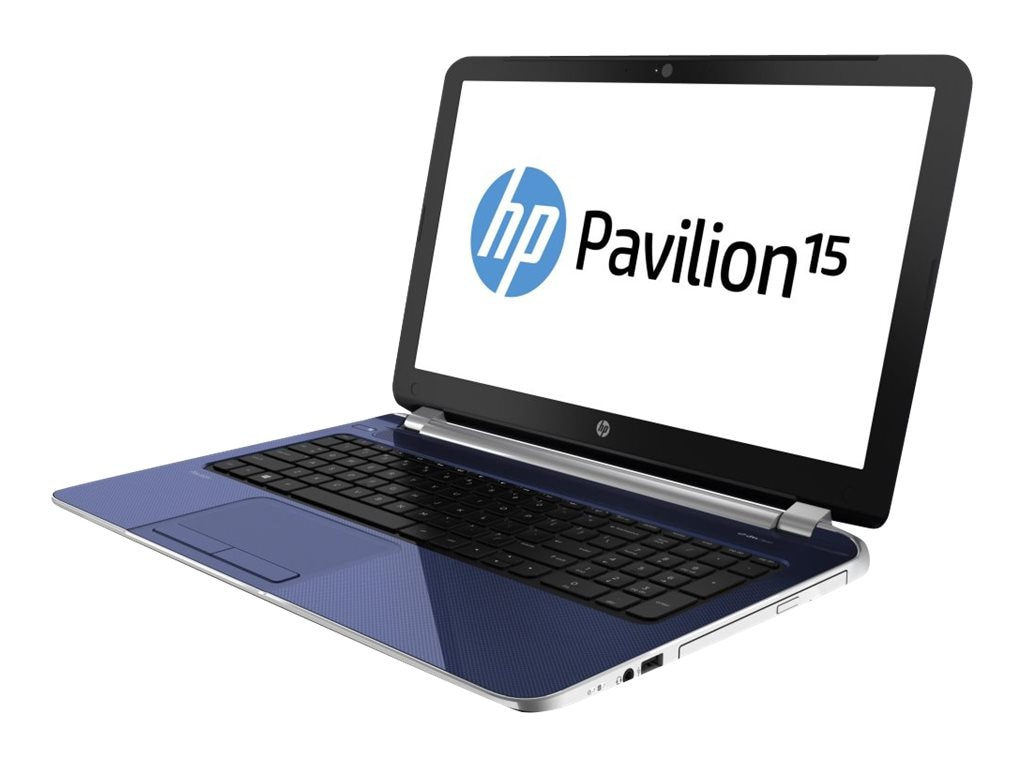 HP Pavilion 15-N204nr AMD QC A6-5200 2.0GHz 8GB 750GB DVD SM bgn NIC BT WC 4C HD8400 15.6 HD W8.1-64
