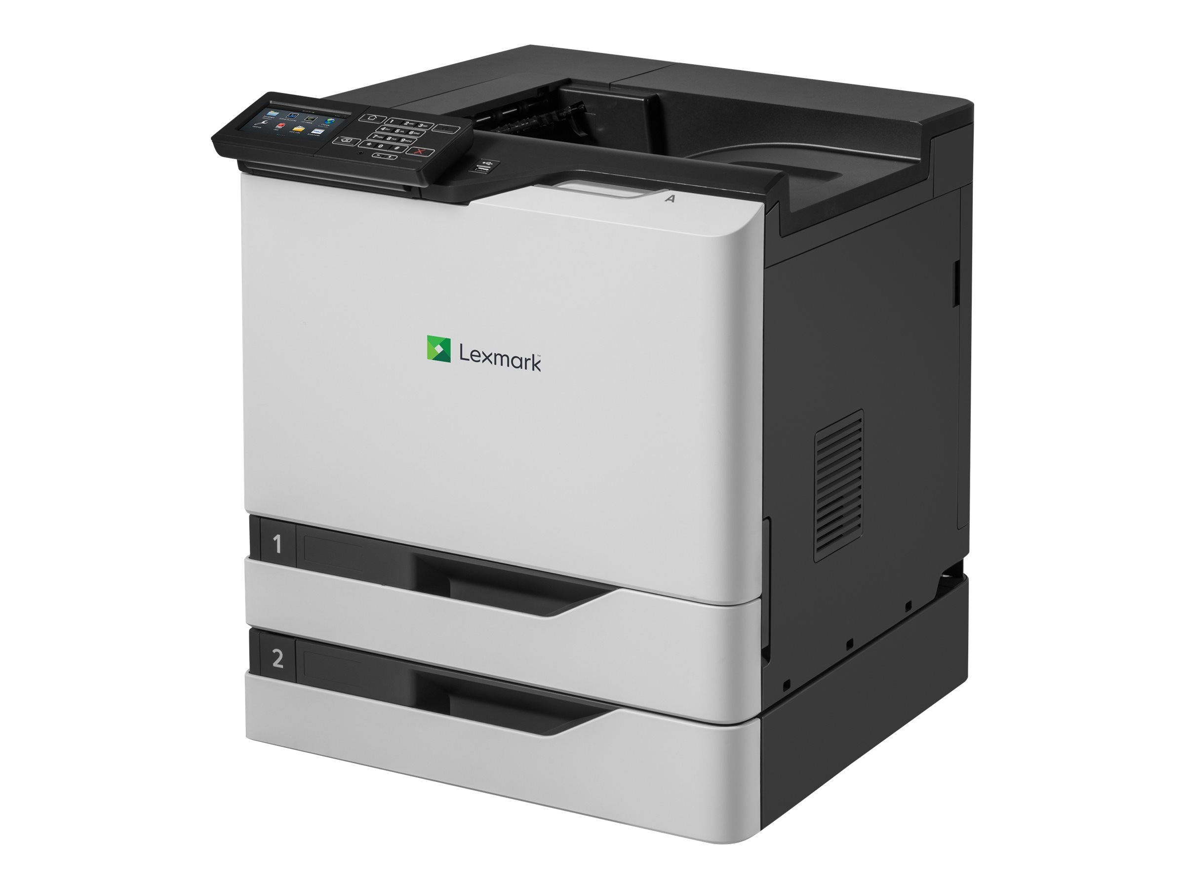 Lexmark CS820dte Color Laser Printer (TAA Compliant)