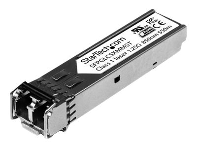 StarTech.com Gigabit Fiber SFP Transceiver Module, Cisco Compatible (10-Pack)