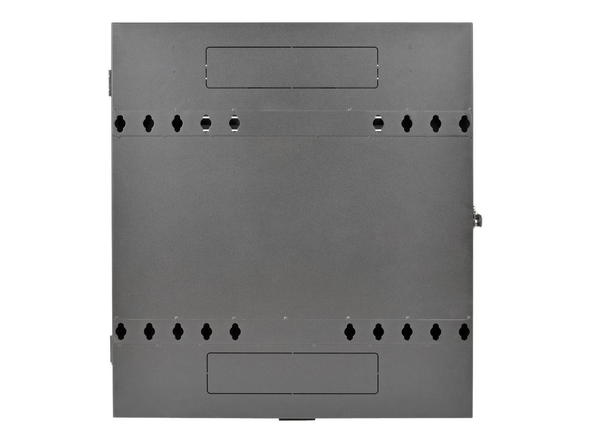 Tripp Lite SmartRack 4U Low-Profile Vertical-Mount Switch-Depth Wall-Mount Rack Enclosure Cabinet, SRWF4U