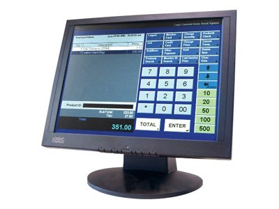 Logic Controls 15 Touchscreen Monitor, LE1000, 10798749, Monitors - LCD