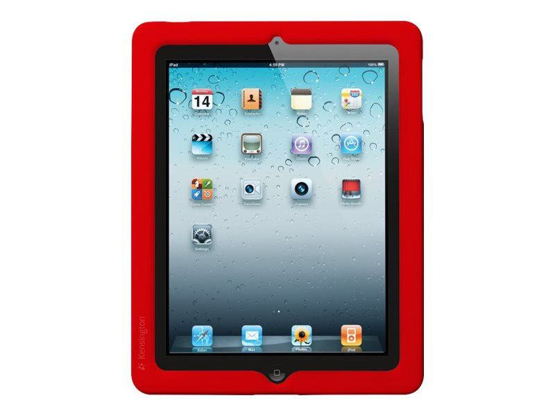 Kensington BlackBelt Protection Band for iPad 2, Red, K39375US, 12906408, Protective & Dust Covers