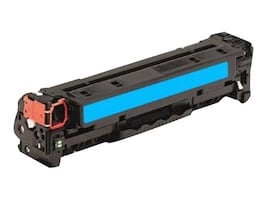 Ereplacements CF211A Cyan Toner Cartridge for HP LaserJet Pro 200 Color M251NW & HP LaserJet Pro Color MFP M276NW, CF211A-ER, 18373649, Toner and Imaging Components