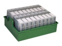 Fujifilm Data Tape Courier Pro Case with LTO Tray, Holds 18 Cartridges, 600006031, 9428513, Media Storage Cases