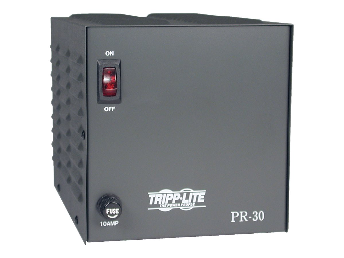 Tripp Lite 30-Amp DC Power Supply 120VAC Input to 13.8VDC Output
