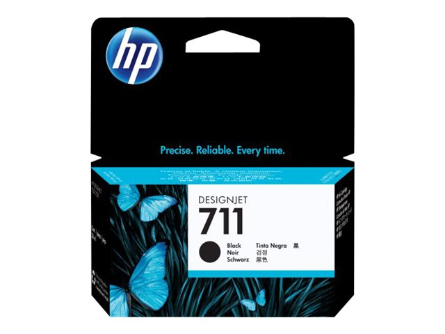 HP 711 38-ml Black Ink Cartridge, CZ129A