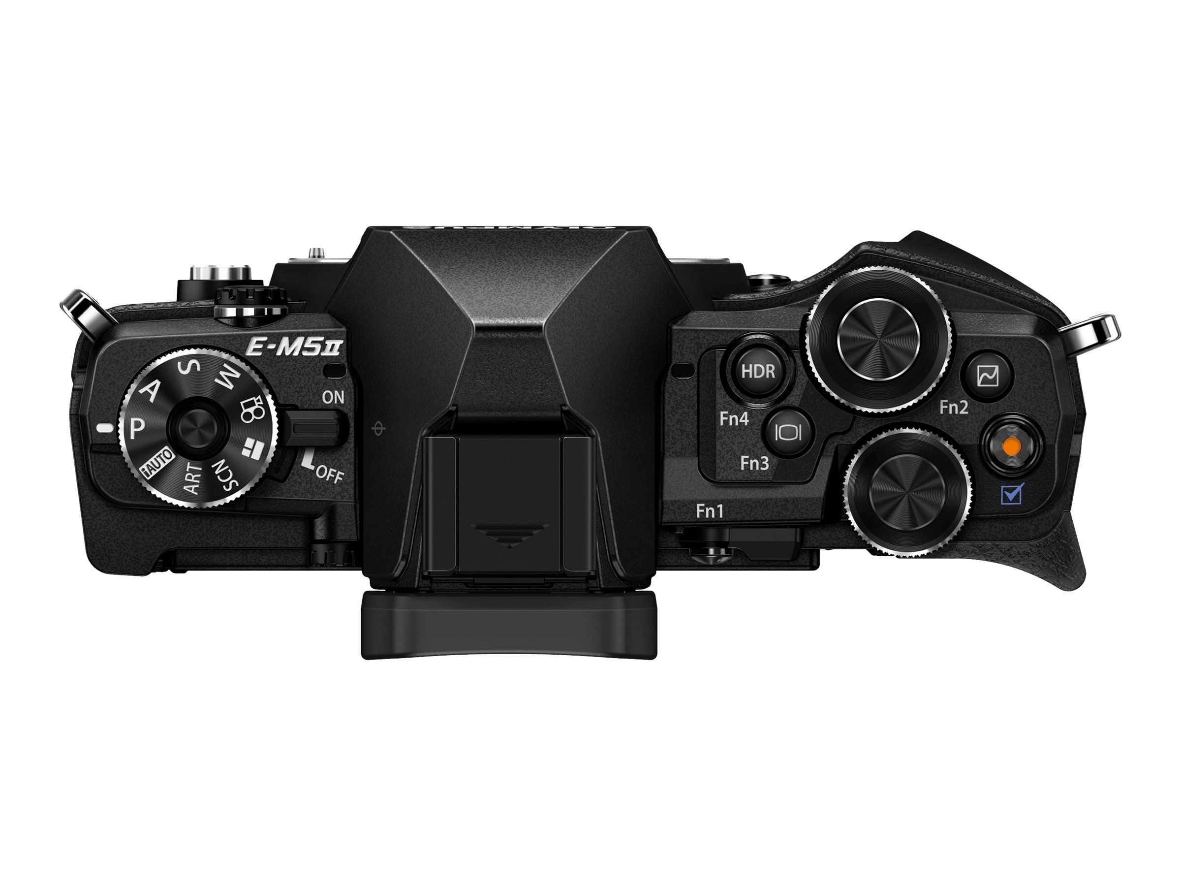 Olympus OM-D E-M5 Mark II Mirrorless Micro Four Thirds Digital, Black (Body Only), V207040BU000