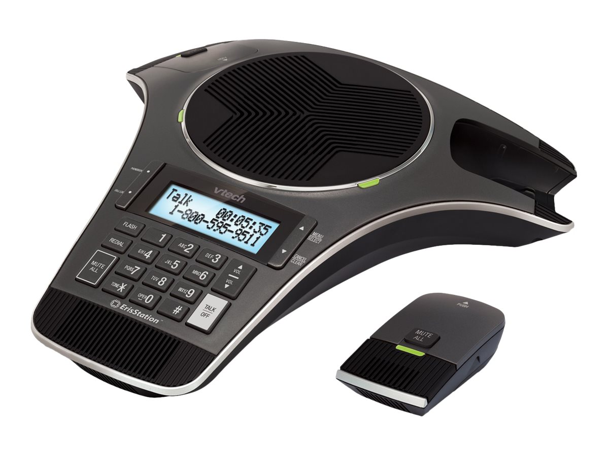 AT&T ErisStation VCS702 Conference Phone with 2xWireless Microphones