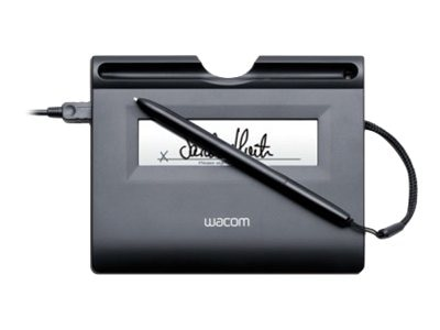 Wacom LCD Signature Tablet, Monochrome Display, 396 x 100, USB, STU300