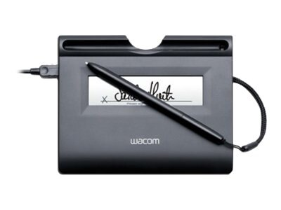 Wacom LCD Signature Tablet, Monochrome Display, 396 x 100, USB