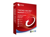 Trend Micro MAXIMUM SECURITY 2016 3-user RETAILCROMBOX, TIN60066, 30811664, Software - Network Management