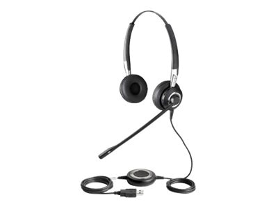Jabra Biz 2400 Duo USB Bluetooth Stereo Computer Headset, 2499-829-105