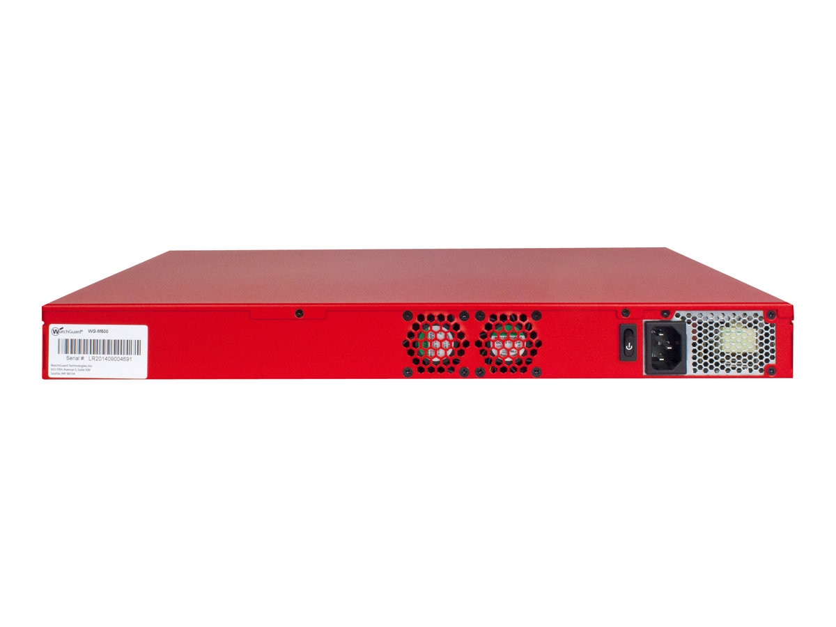 Watchguard Firebox M500 with LiveSecurity (3 Years), WGM50003
