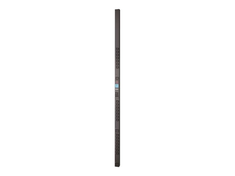 APC Rack PDU 2G, Metered by Outlet with Switching, 0U, 208V 20A (21) C13 (3) C19