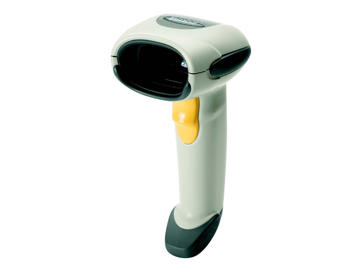 Zebra Symbol LS4208 Scanner Kit, USB 9ft. Coiled Cable, White, LS4208-SWZU1200ZR, 6716801, Bar Code Scanners