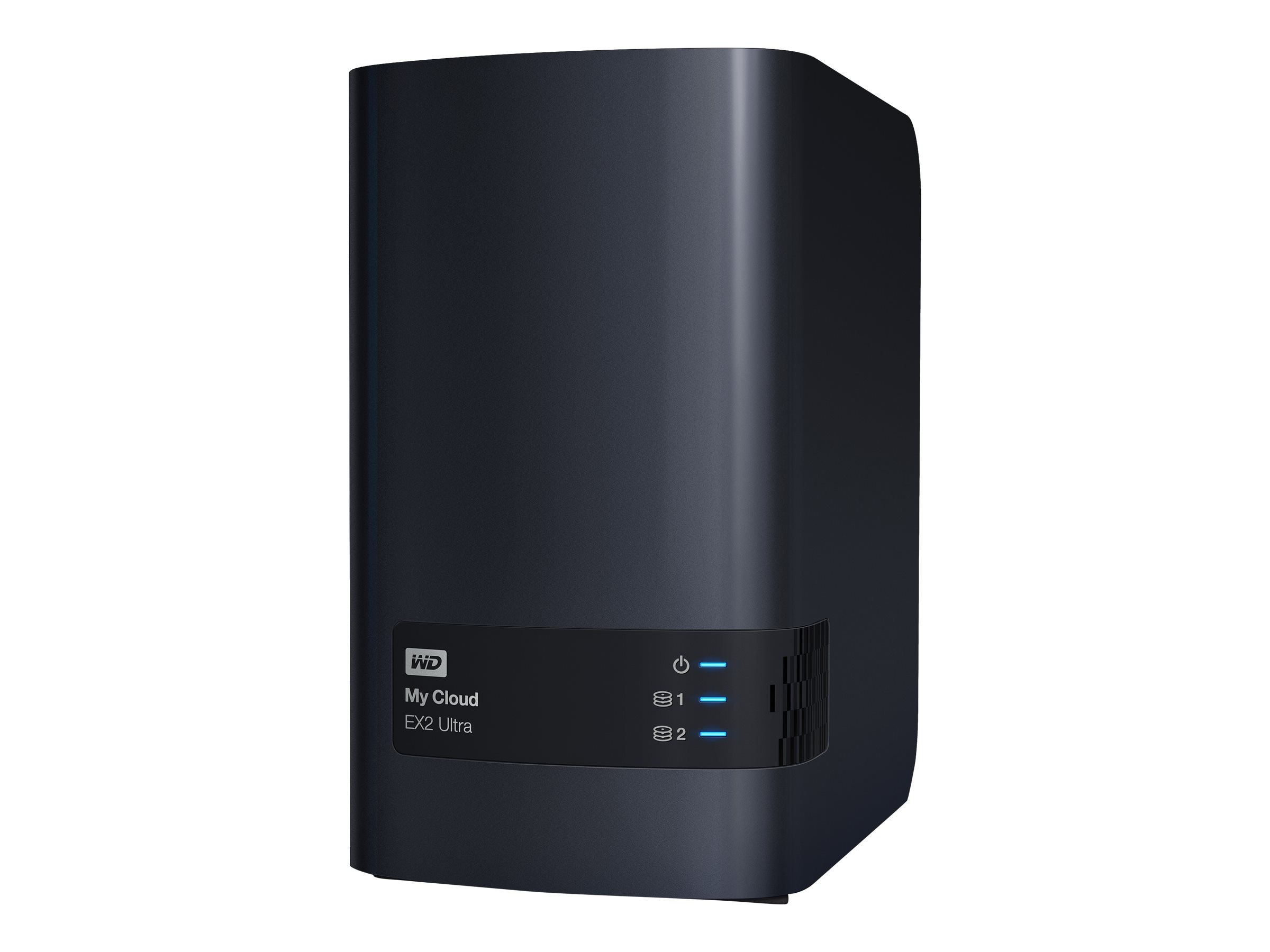 WD 12TB WD My Cloud EX2 Ultra Private Cloud NAS Storage, WDBVBZ0120JCH-NESN, 31791773, Network Attached Storage