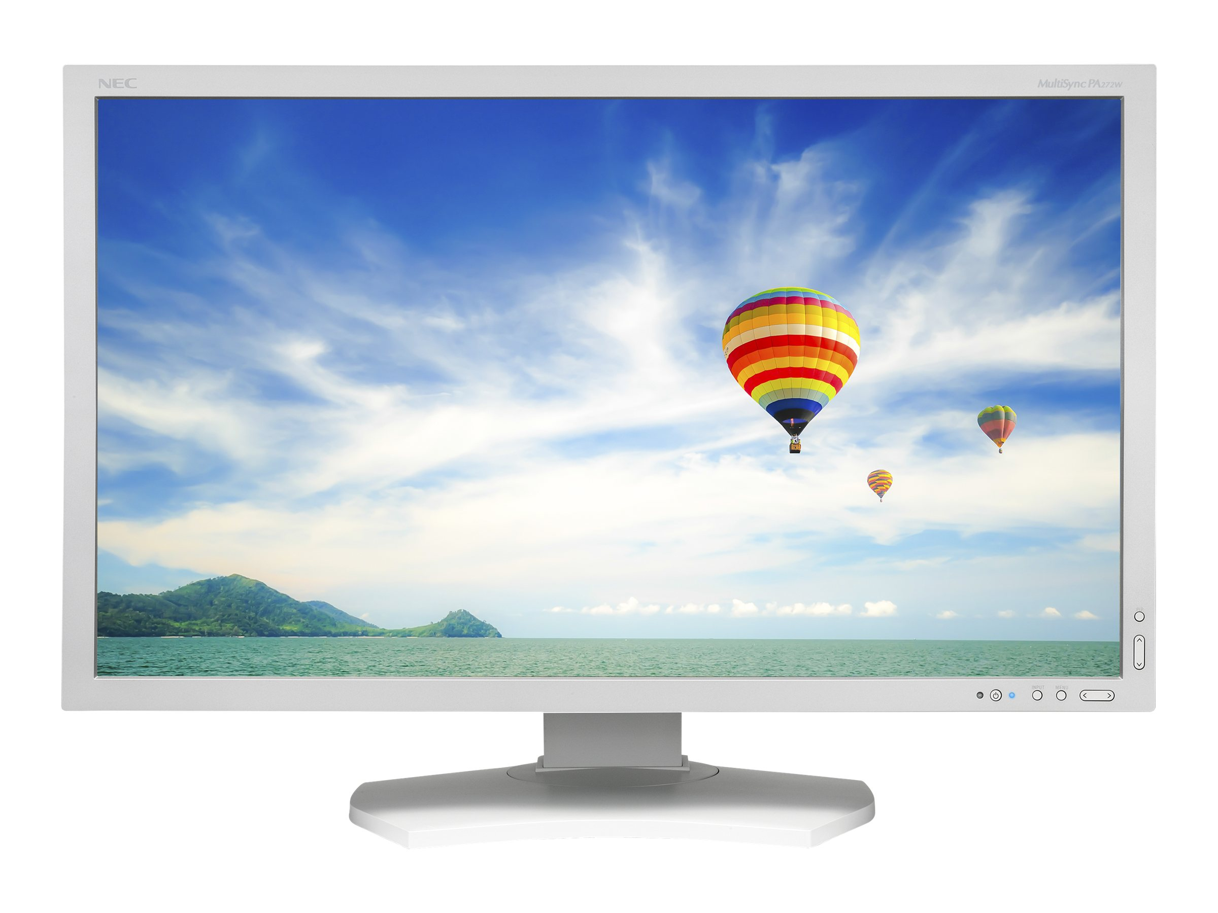 NEC 27 PA272W LED-LCD Monitor, White, PA272W, 16349426, Monitors - LED-LCD