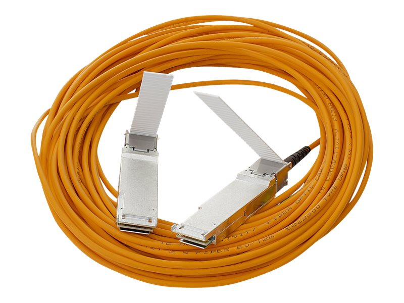 HPE 40G QSFP+ to QSFP+ Active Optical Cable, 10m, 720208-B21, 17468689, Cables