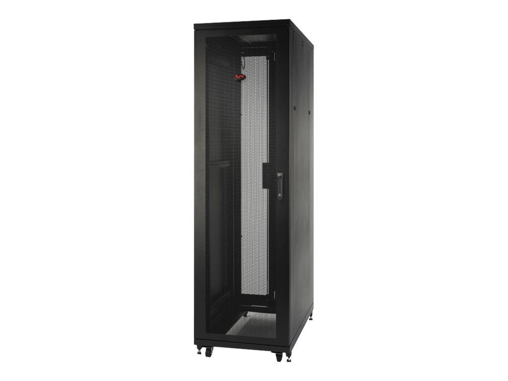 APC NetShelter SV 48U x 600mm Wide x 1060mm Deep Enclosure with Sides, Black, AR2407, 15700131, Racks & Cabinets