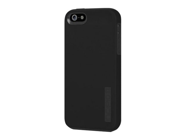 Incipio DualPro Case for iPhone 5 5s SE, Black Black