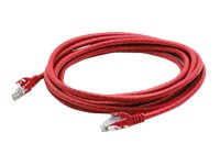 ACP-EP CAT6A Molded Snagless Patch Cable, Red, 3ft