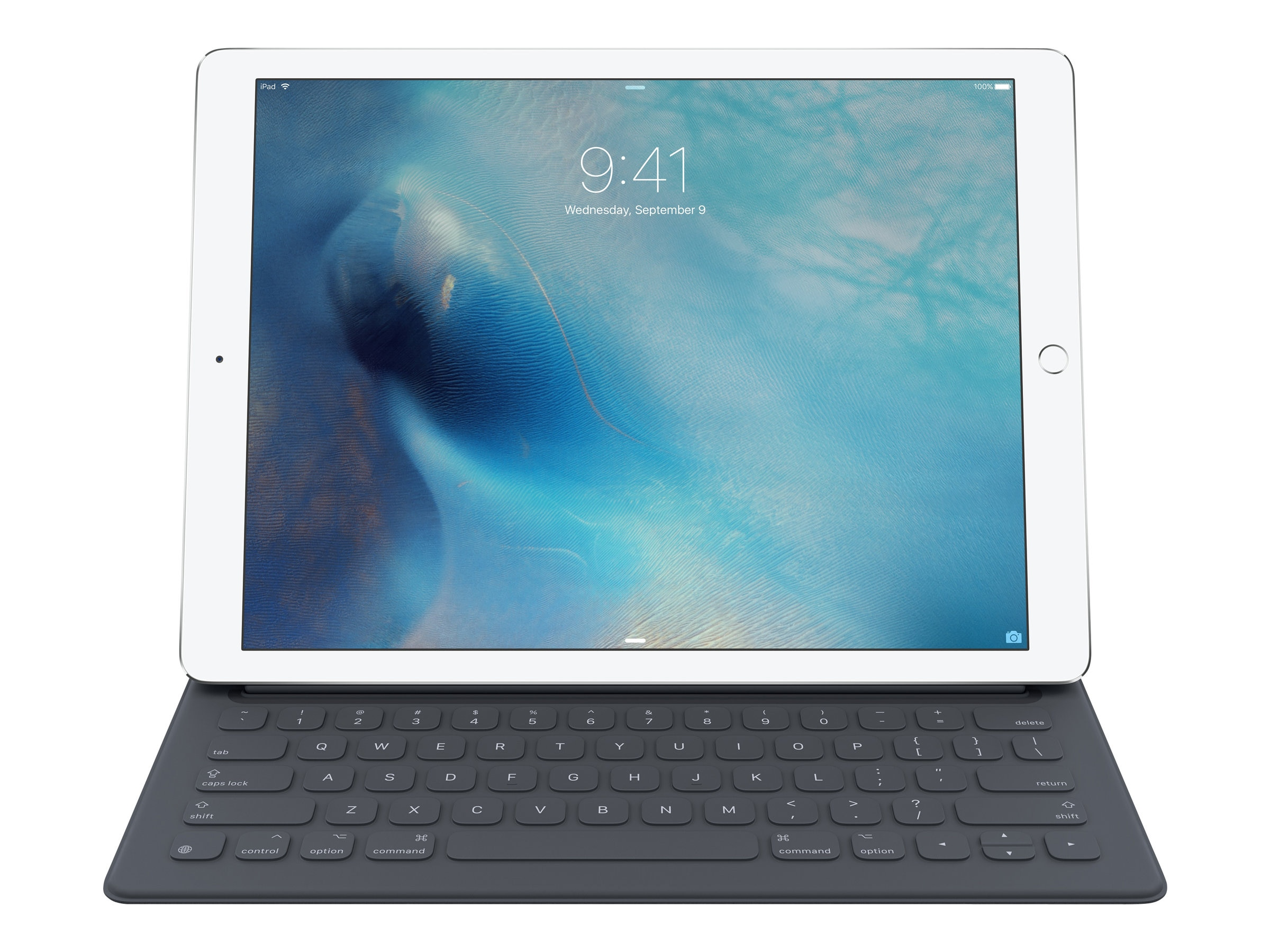 Apple Smart Keyboard Cover for iPad Pro 12.9, Apple Smart Connector, MJYR2LL/A