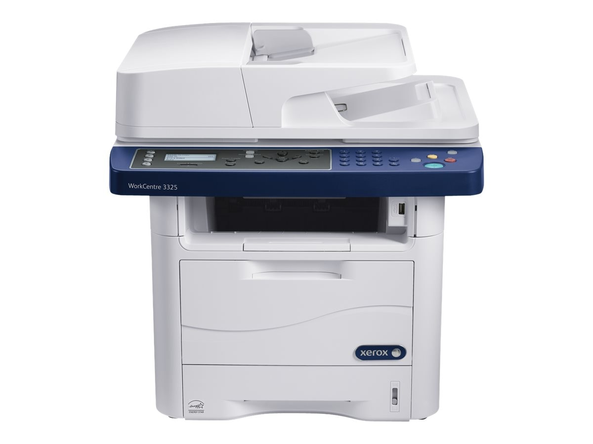 Xerox WorkCentre 3225 DNI Monochrome Multifunction Printer, 3225/DNI