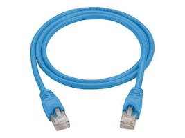 Black Box Cat6 Molded Patch Cable, Blue, 5ft, CAT6PC-005-BL, 14640383, Cables