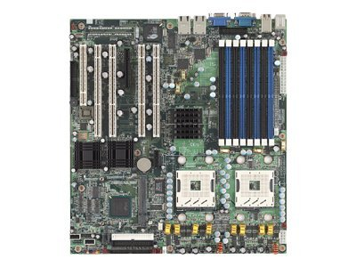 Tyan Motherboard, E7520, Dual Xeon, 800MHz, EATX, Max 16GB DDR2, PCIE, 4PCIX, PCI, Video, SATA, RAID, S5362G2NR, 6881136, Motherboards