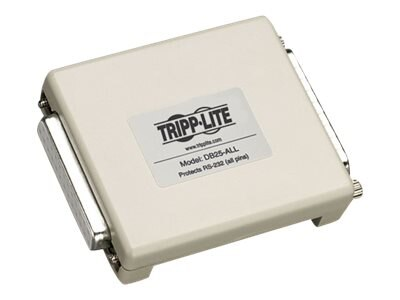 Tripp Lite Network Dataline Surge RS-232 Protector for Any M F 25 Pin Port, DB25-ALL, 180392, Surge Suppressors