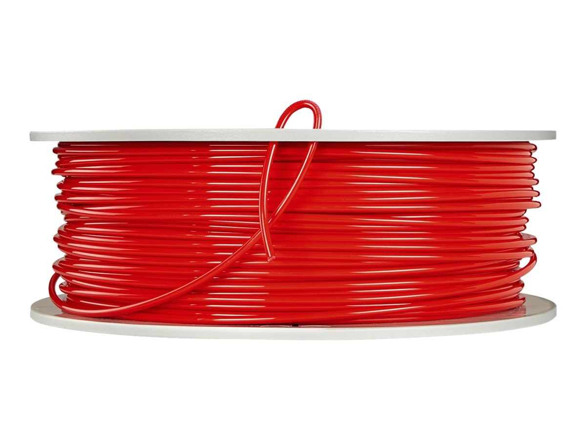 Verbatim Red 3mm 1kg PLA 3D Filamennt Reel, 55262