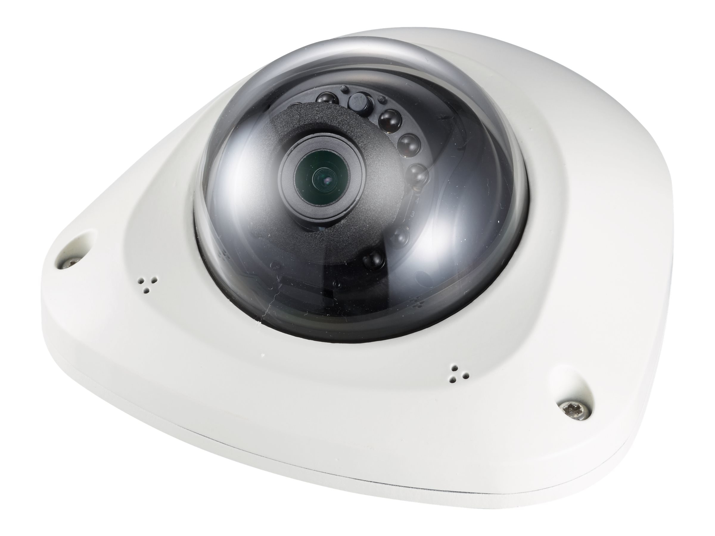 Samsung 2MP Full HD Vandal-Resistant Network IR Flat Camera