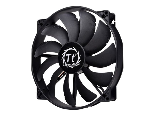 Thermaltake Pure 20 DC High Performance Fan, CL-F015-PL20BL-A, 16976518, Cooling Systems/Fans