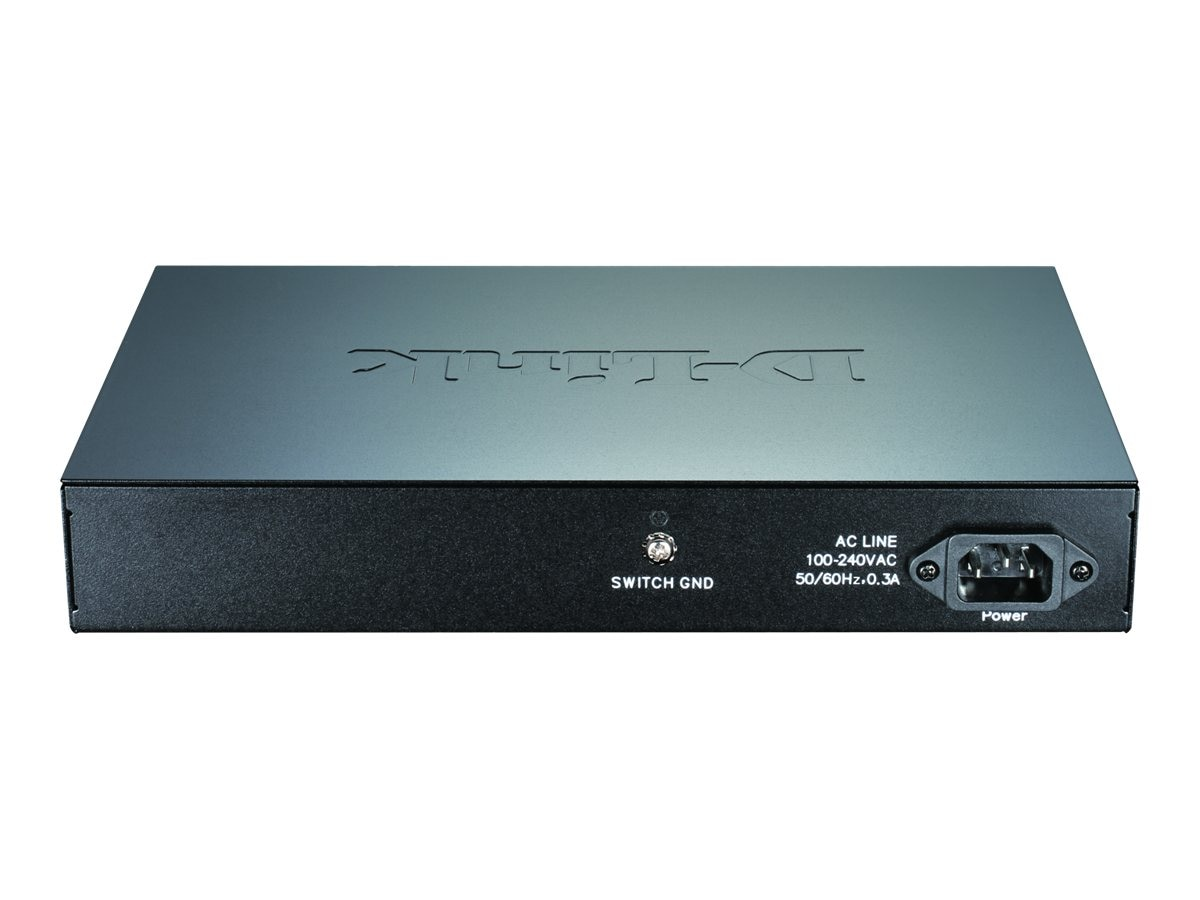 D-Link 24-port Gigabit Easy Smart Switch, DGS-1100-24