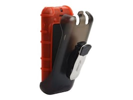 Zcover Dock-in-Case Ruggedized HealthCare Back Open Silicone Case w  Holster, for Cisco 8821 8821-EX, Red, CI821BRD, 33633103, Carrying Cases - Phones/PDAs