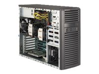 Supermicro SuperWorkstation MT E5-2400 Family Max.192GB DDR3 4x3.5 Bays 3xPCIe 2xGbE 500W, SYS-7037A-IL, 15242011, Servers