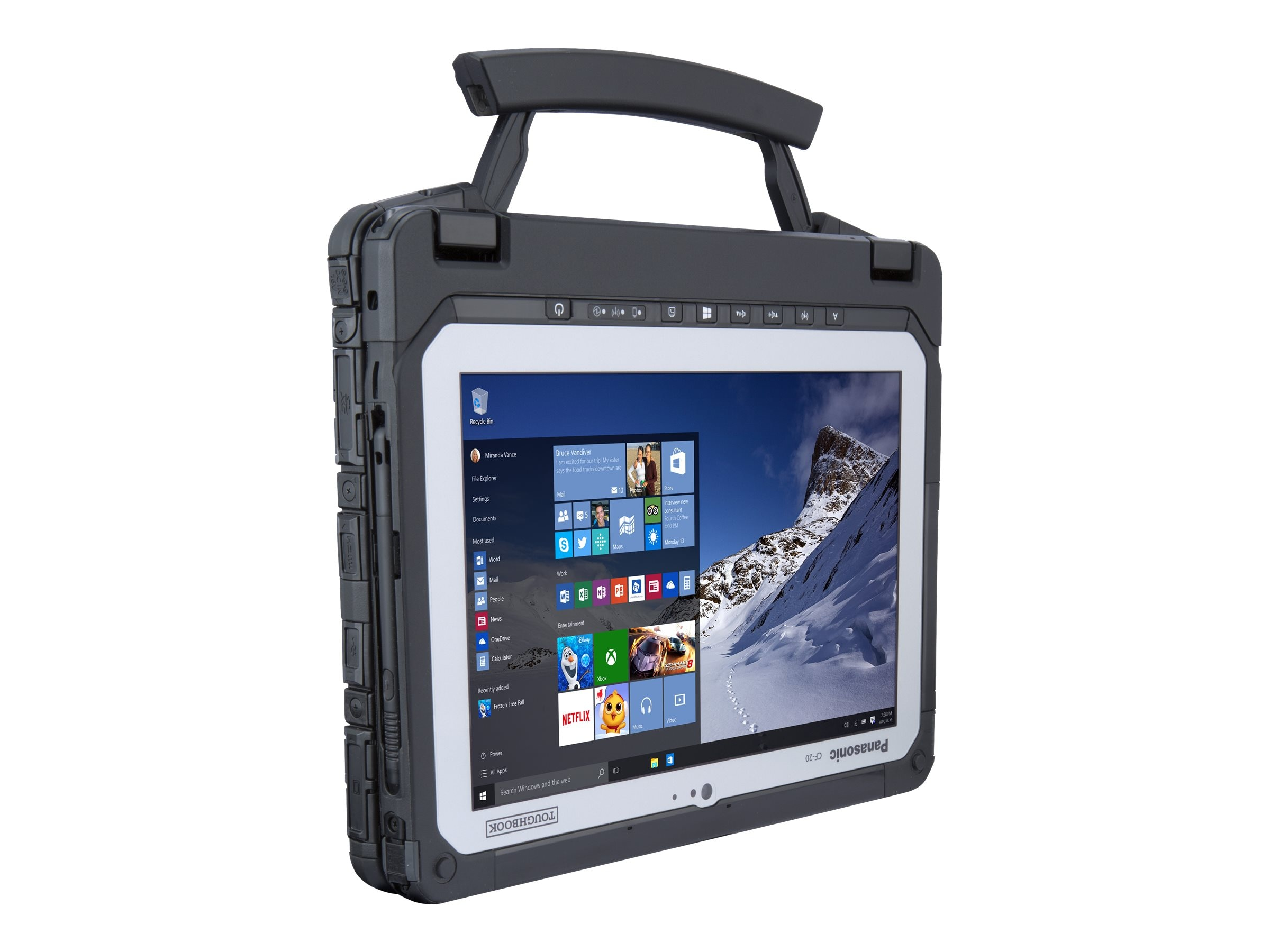 Panasonic Toughbook 20 Core M5-6Y57 1.1GHz 10.1, CF-20A0-00KM