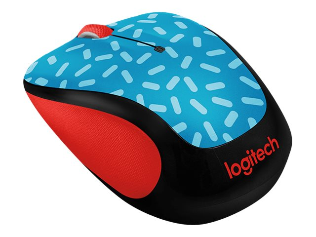 Logitech M325c Wireless Mouse, Memphis Blue, 910-004744
