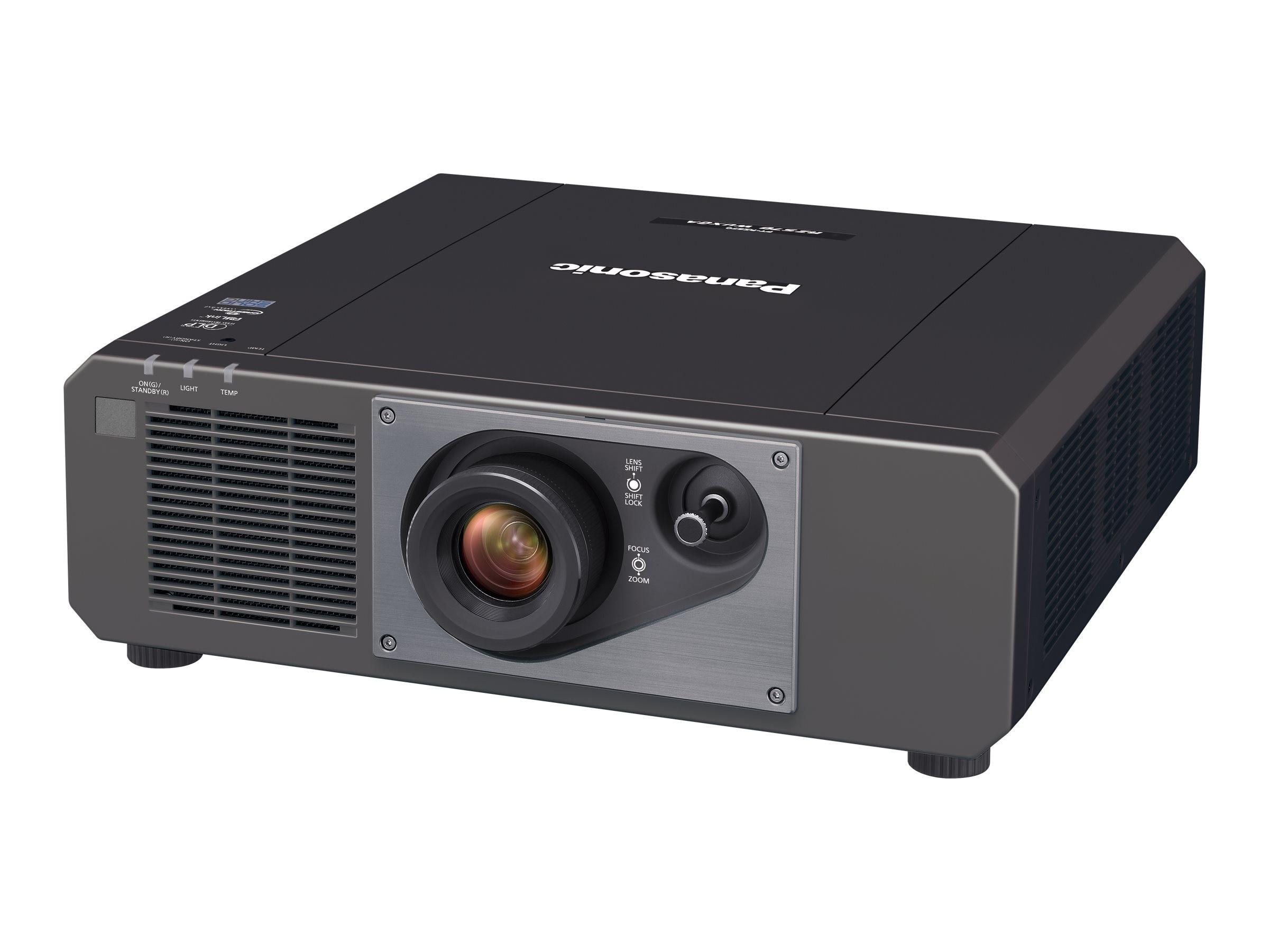 Panasonic PT-RZ570BU WUXGA DLP Projector, 5000 Lumens, Black