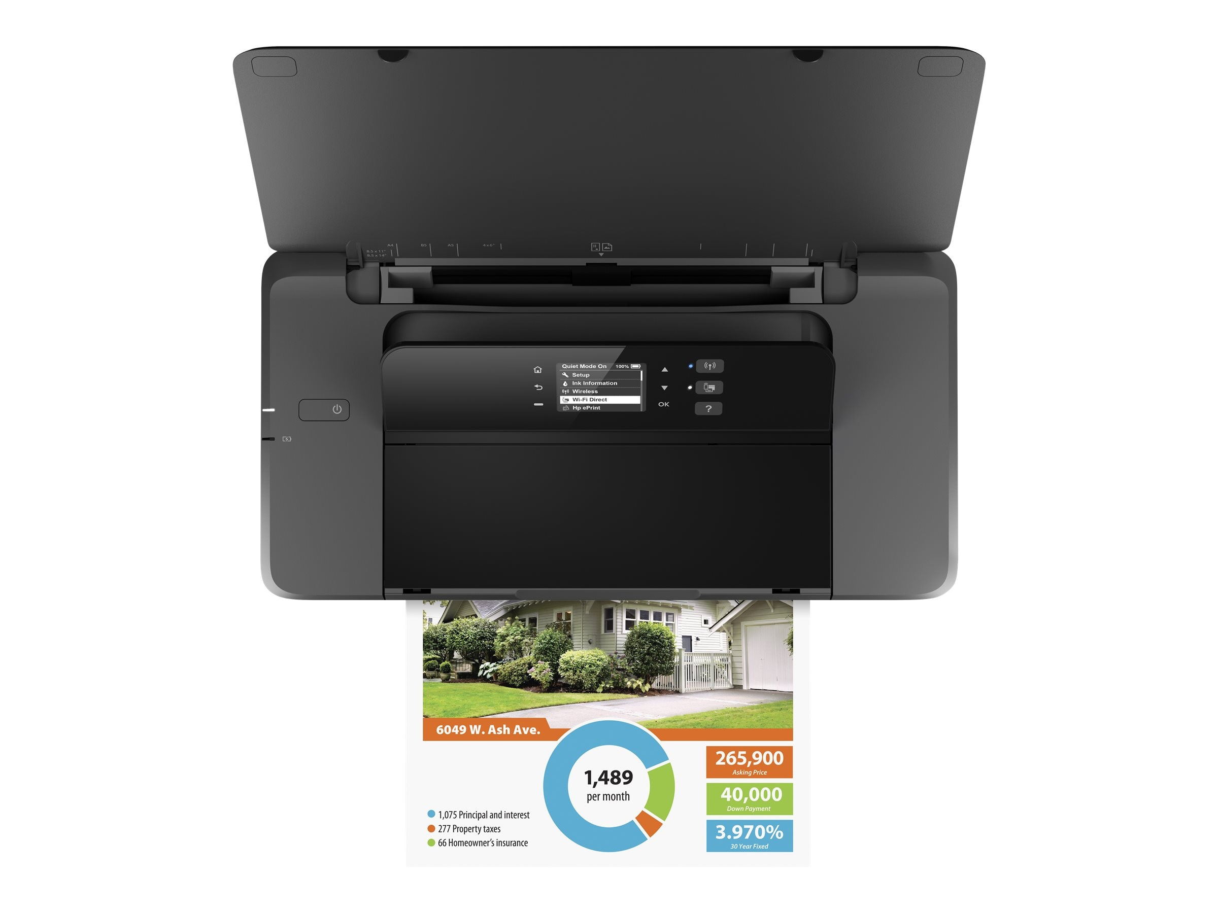 HP Officejet 200 Mobile Printer ($279 - $80 Instant Rebate = $199 Expires 2 14 17), CZ993A#B1H