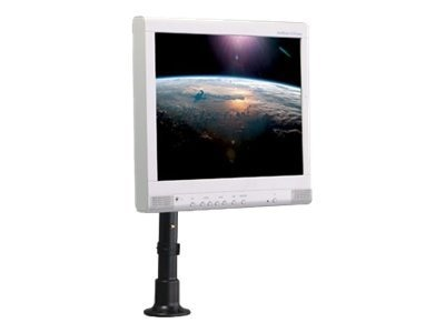 Peerless Height Adjustable Desktop Mount for LCD Screens - Direct Mount, Black, LCH 100