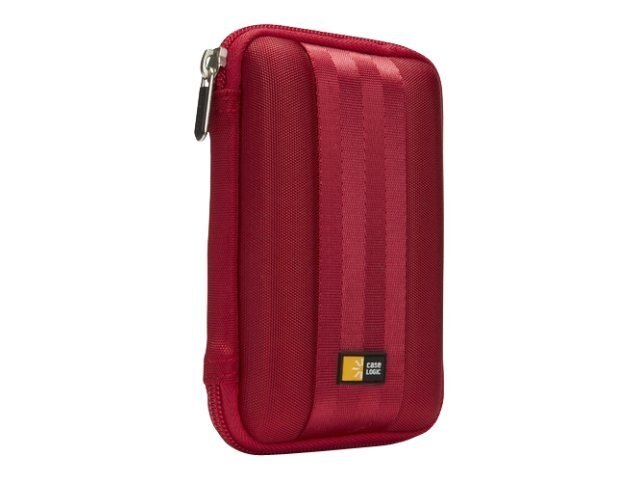 Case Logic Portable Hard Drive Case, Red, QHDC-101RED